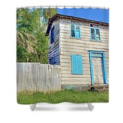 Old Board House Shower Curtain