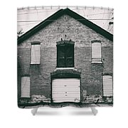 Old Boat House Shower Curtain