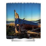 Old Boats#1 Shower Curtain