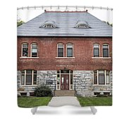 Old Botany Building Penn State  Shower Curtain