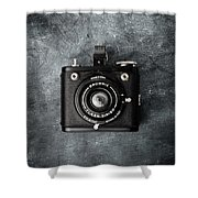 Old Box Camera Shower Curtain