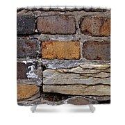 Old Bricks Shower Curtain