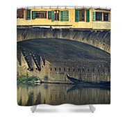 Ponte Vecchio Protection Shower Curtain
