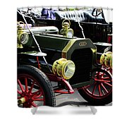 Old Buick Shower Curtain