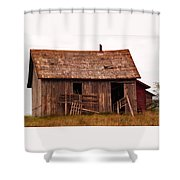 Old Building Shower Curtain