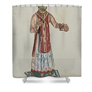 Old Bulto San Lorenzo Shower Curtain