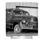 Old Cadillac Shower Curtain