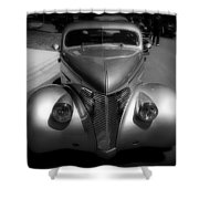 Old Calssic Car Shower Curtain