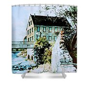 Old Cambridge Mill Shower Curtain