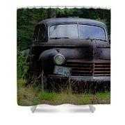 Old Car 1941 Shower Curtain