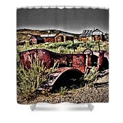 Old Car At Bodie Shower Curtain