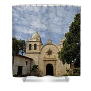 Old Carmel Mission Shower Curtain