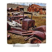Old Cars Bodie Shower Curtain
