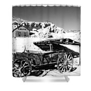 Old Cart Shower Curtain
