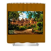 Old Castle - France H A Shower Curtain