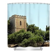 Old Castle In Hebron Shower Curtain