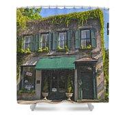 Old Charleston Gardens On 61 Queen Street Shower Curtain