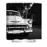 Old Chevy Connecticut Shower Curtain