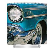 Old Chevy Shower Curtain by Steve Karol