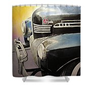 Old Chrysler Shower Curtain