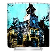 Old Church At Oxford Maryland Shower Curtain