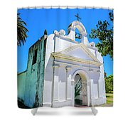 Old Church Colonia Shower Curtain