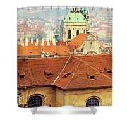 Old Church In Prague Shower Curtain