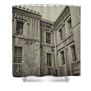 Old City Jail Chs Shower Curtain
