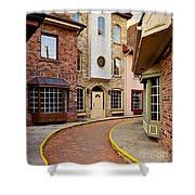 Old City Street Shower Curtain