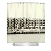 Old Coffee And Cotton Warehouse Shower Curtain