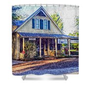 Old Country Store Shower Curtain