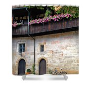 Old Court - Bamberg  Shower Curtain