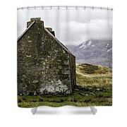 Old Croft Cottage Shower Curtain