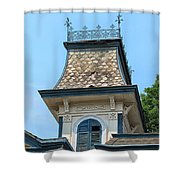 Old Cupola Shower Curtain