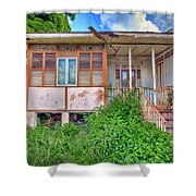 Old Curepe House Shower Curtain