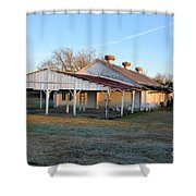 Old Dairy Of Darien Shower Curtain