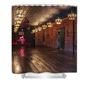 Old Dance Hall Shower Curtain
