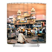 Old Dehli Shower Curtain