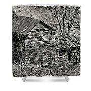 Old Deserted Farmhouse 3 Shower Curtain