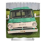 Old Dodge Shower Curtain