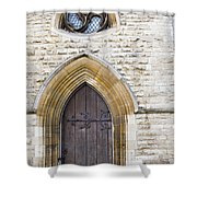 Old Door And Window York Shower Curtain