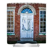 Old Door And Windows Shower Curtain