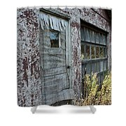 Old Door County Cherry Store Shower Curtain