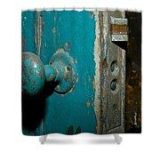 Old Door Shower Curtain