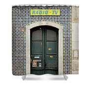 Old Door - Electronics Store Shower Curtain
