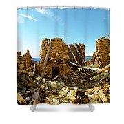 Old Doors Kinishba Ruins Shower Curtain