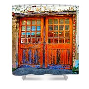 Old Doors Shower Curtain