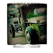 Old Drive Shower Curtain by Perry Webster