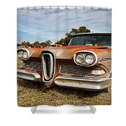 Old Edsel Shower Curtain