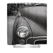Old English Car Shower Curtain